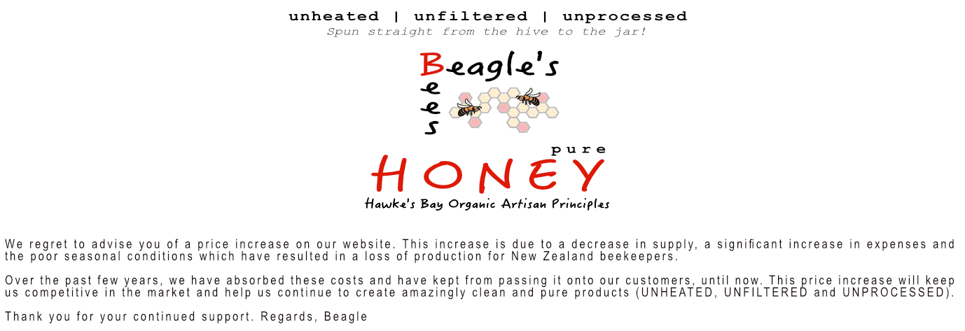Harvested from Hawkes Bay using organic principles